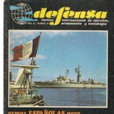 Militaria: DEFENSA. Nº 24. REVISTA INTERNACIONAL DE EJÉRCITOS, ARMAMENTO Y TECNOLOGÍA. (P/B20). Lote 178569116