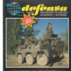 Militaria: DEFENSA. Nº 200. REVISTA INTERNACIONAL DE EJÉRCITOS, ARMAMENTO Y TECNOLOGÍA. PEREZ REVERTE.(P/B20). Lote 178569722