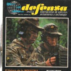 Militaria: DEFENSA. Nº 204. REVISTA INTERNACIONAL DE EJÉRCITOS, ARMAMENTO Y TECNOLOGÍA. (P/B20). Lote 178569928