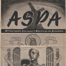 Militaria: REVISTA ASPA Nº 117 (1942) (2ª GUERRA MUNDIAL). Lote 178572378