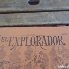 Militaria: REVISTA EL EXPLORADOR BOYS SCOUTS ESCULTISMO Nº 159 JULIO 1922. Lote 178690682