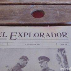Militaria: REVISTA EL EXPLORADOR BOYS SCOUTS ESCULTISMO Nº 168 MARZO 1923. Lote 178705737