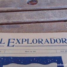 Militaria: REVISTA EL EXPLORADOR BOYS SCOUTS ESCULTISMO Nº 204 MARZO 1926. Lote 178709061
