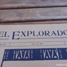Militaria: REVISTA EL EXPLORADOR BOYS SCOUTS ESCULTISMO Nº 208 JULIO 1926. Lote 178710370