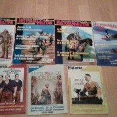 Militaria: LOTE DE 7 REVISTAS : 4 DE HISTORIA MILITAR, NUMEROS 1,3,6 Y 9 Y 3 DE HISTORIA 16. Lote 178821467