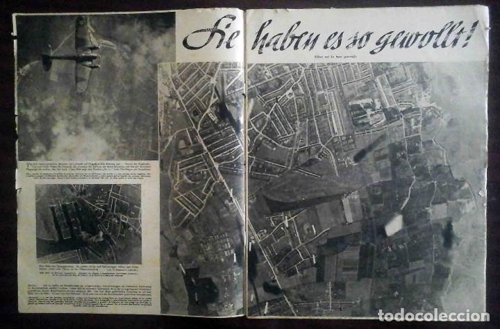 Militaria: Der Adler Nº 19 / 17 Septiembre 1940. Golpe tras golpe. Edición en alemán y español. - Foto 2 - 194407552