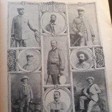 Militaria: MILITARES DE ESPAÑA DE LA GUERRA DE CUBA - HOJA REVISTA DE 1896 . Lote 178950681