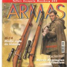 Militaria: ARMAS. Nº 230. M - 16, MEDIO SIGLO DE HISTORIA. 28 SEPTBRE 2001. (P/B1). Lote 179019732