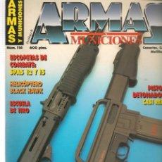 Militaria: ARMAS Y MUNICIONES. Nº 114. OCTUBRE, 1995. (P/B1). Lote 179019917