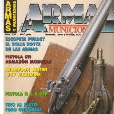 Militaria: ARMAS Y MUNICIONES. Nº 124. JULIO, 1996. (P/B1). Lote 179020008