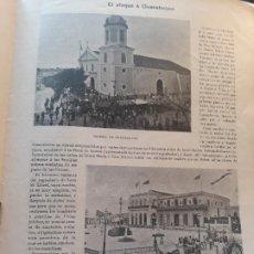 Militaria: GUERRA DE CUBA - EL ATAQUE A GUANABACOA - LOS HERIDOS DE CUBA - REDACCION IMPARCIAL - 1896 - 3 PG. Lote 179020313