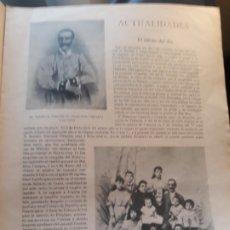 Militaria: GUERRA DE CUBA - EL HEROE DEL DIA - TENIENTE CORONEL D.FRANCISCO CIRUJEDA -HOJA AÑO DICIEMBRE 1896. Lote 179020600