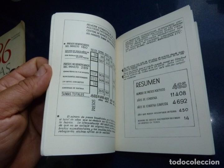 Militaria: DIFICIL REVISTA MURO PÁGINAS DE LA PRISIÓN 1961 EDITADO EN PARIS REPRESION FRANQUISTA - Foto 6 - 179102382