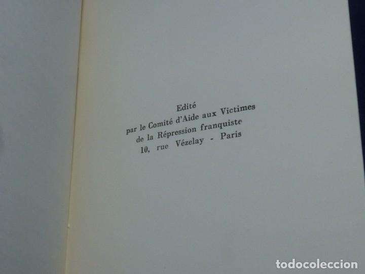 Militaria: DIFICIL REVISTA MURO PÁGINAS DE LA PRISIÓN 1961 EDITADO EN PARIS REPRESION FRANQUISTA - Foto 8 - 179102382