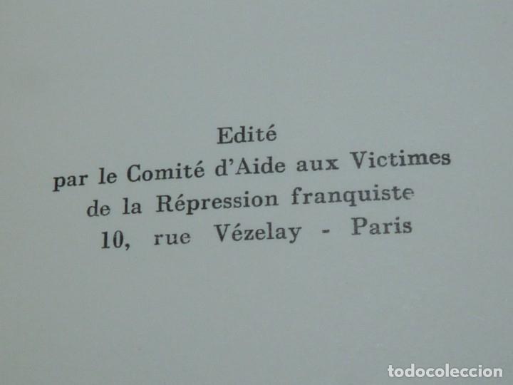 Militaria: DIFICIL REVISTA MURO PÁGINAS DE LA PRISIÓN 1961 EDITADO EN PARIS REPRESION FRANQUISTA - Foto 9 - 179102382