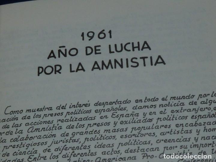 Militaria: DIFICIL REVISTA MURO PÁGINAS DE LA PRISIÓN 1961 EDITADO EN PARIS REPRESION FRANQUISTA - Foto 10 - 179102382