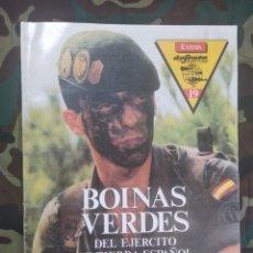 Militaria: REVISTA DEFENSA EXTRA N°19 ESPECIAL BOINAS VERDES DEL EJÉRCITO DE TIERRA. Lote 179312778