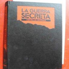 Militaria: LA GUERRA SECRETA. HISTORIA DEL ESPIONAJE. CUBIERTAS. Lote 180074405