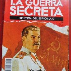 Militaria: LA GUERRA SECRETA. HISTORIA DEL ESPIONAJE. FASCÍCULO Nº 28. Lote 180160353
