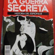 Militaria: LA GUERRA SECRETA. HISTORIA DEL ESPIONAJE. FASCÍCULO Nº 35. Lote 180160677