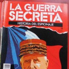 Militaria: LA GUERRA SECRETA. HISTORIA DEL ESPIONAJE. FASCÍCULO Nº 38. Lote 180188752
