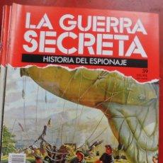 Militaria: LA GUERRA SECRETA. HISTORIA DEL ESPIONAJE. FASCÍCULO Nº 39. Lote 180188857