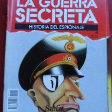 Militaria: LA GUERRA SECRETA. HISTORIA DEL ESPIONAJE. FASCÍCULO Nº 41. Lote 180204421