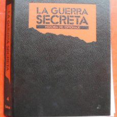 Militaria: LA GUERRA SECRETA. HISTORIA DEL ESPIONAJE. CUBIERTAS. Lote 180221038