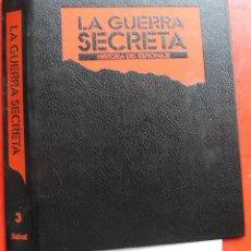 Militaria: LA GUERRA SECRETA. HISTORIA DEL ESPIONAJE. CUBIERTAS. Lote 180297877