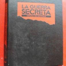 Militaria: LA GUERRA SECRETA. HISTORIA DEL ESPIONAJE. CUBIERTAS. Lote 180331698
