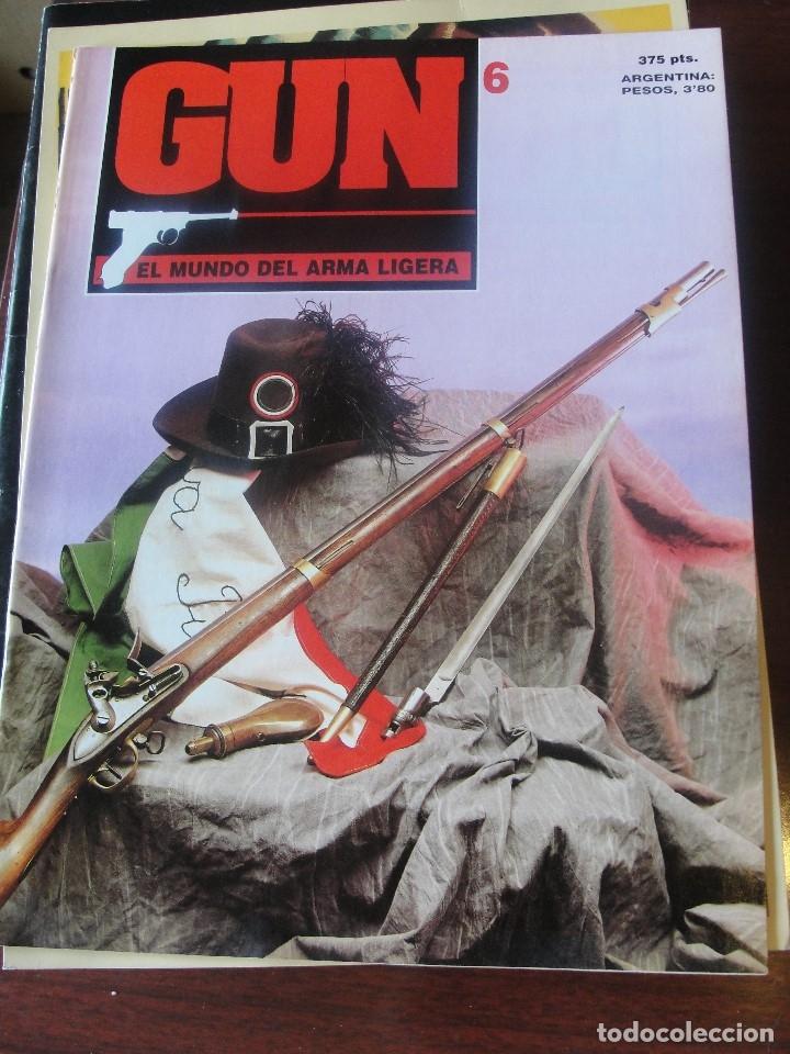 Militaria: revista gun 6 - pistola luger / fg 42 mitra paracaidistas - colt detective - SIN USAR / ENVIO GRATIS - Foto 3 - 180386236