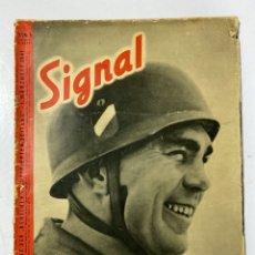 Militaria: SIGNAL. ITALO-ALEMAN. Nº 5. PRIMER NUMERO DE MARZO, 1941. VER FOTOS.. Lote 182255710