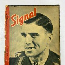 Militaria: SIGNAL. ITALO-ALEMAN. Nº 7. PRIMER NUMERO DE ABRIL, 1943. VER FOTOS. Lote 182255865