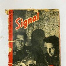Militaria: SIGNAL. ITALO-ALEMAN. Nº 17. PRIMER NUMERO DE SEPTIEMBRE, 1941. VER FOTOS. Lote 182255975
