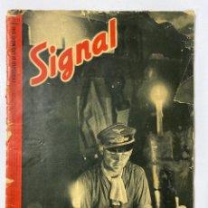 Militaria: SIGNAL. ITALO-ALEMAN. Nº 23/24. DICIEMBRE, 1941. VER FOTOS. Lote 182261271