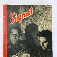 Militaria: SIGNAL. ITALO-ALEMAN. Nº 17. PRIMER NUMERO DE SEPTIEMBRE, 1941. BUEN ESTADO. VER FOTOS. Lote 182261998