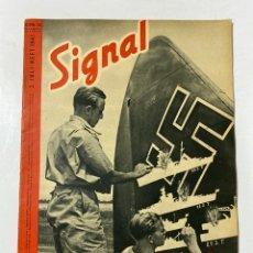Militaria: SIGNAL. ITALO-ALEMAN. Nº 14. SEGUNDO NUMERO DE JULIO, 1941. BUEN ESTADO. VER FOTOS. Lote 182262231