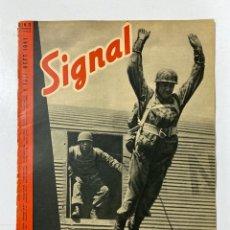 Militaria: SIGNAL. ITALO-ALEMAN. Nº 13. PRIMER NUMERO DE JULIO, 1941. BUEN ESTADO. VER FOTOS. Lote 182262386