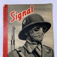 Militaria: SIGNAL. ITALO-ALEMAN. Nº 12. SEGUNDO NUMERO DE JUNIO, 1941. BUEN ESTADO. VER FOTOS. Lote 182262512