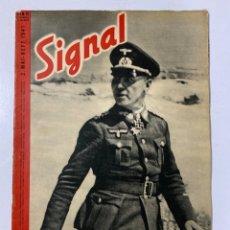 Militaria: SIGNAL. ITALO-ALEMAN. Nº 10. SEGUNDO NUMERO DE MAYO, 1941. BUEN ESTADO. VER FOTOS. Lote 182262692