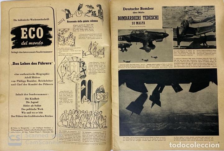 Militaria: SIGNAL. ITALO-ALEMAN. Nº 6. SEGUNDO NUMERO DE MARZO, 1941. BUEN ESTADO. VER FOTOS - Foto 2 - 182263118