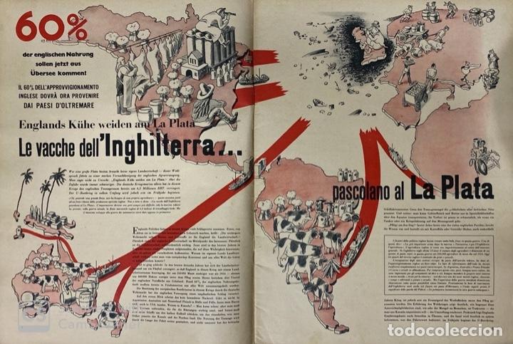 Militaria: SIGNAL. ITALO-ALEMAN. Nº 6. SEGUNDO NUMERO DE MARZO, 1941. BUEN ESTADO. VER FOTOS - Foto 3 - 182263118