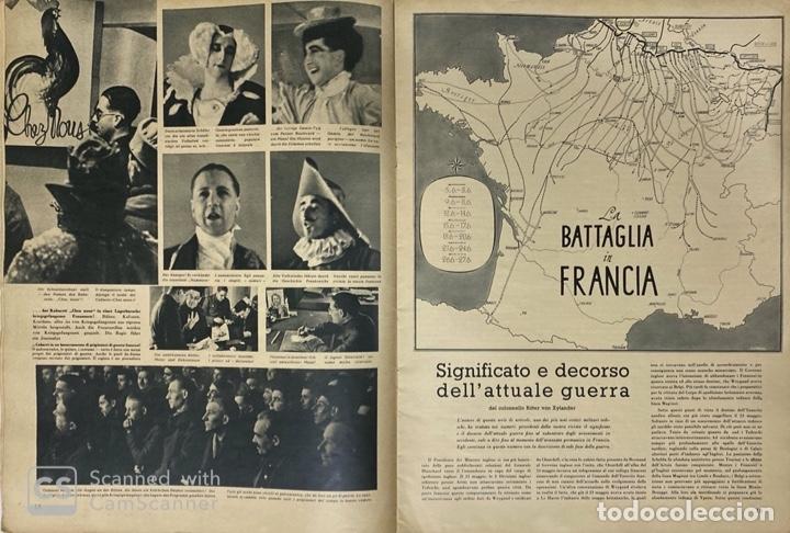 Militaria: SIGNAL. ITALO-ALEMAN. Nº 6. SEGUNDO NUMERO DE MARZO, 1941. BUEN ESTADO. VER FOTOS - Foto 5 - 182263118