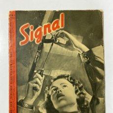 Militaria: SIGNAL. ITALO-ALEMAN. Nº 2. SEGUNDO NUMERO DE ENERO, 1941. VER FOTOS. Lote 182263588