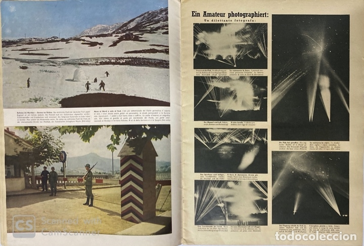 Militaria: SIGNAL. ITALO-ALEMAN. Nº 2. SEGUNDO NUMERO DE ENERO, 1941. VER FOTOS - Foto 4 - 182263588