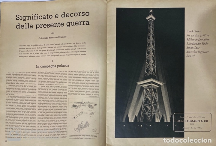 Militaria: SIGNAL. ITALO-ALEMAN. Nº 2. SEGUNDO NUMERO DE ENERO, 1941. VER FOTOS - Foto 5 - 182263588