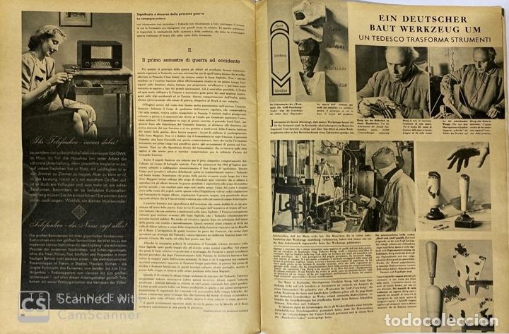 Militaria: SIGNAL. ITALO-ALEMAN. Nº 2. SEGUNDO NUMERO DE ENERO, 1941. VER FOTOS - Foto 7 - 182263588