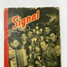 Militaria: SIGNAL. ITALO-ALEMAN. Nº 1. ENERO, 1941. VER FOTOS. Lote 182263698