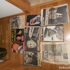 Militaria: LOTE 5 REVISTAS MUERTE FRANCO - CAMBIO 16 LECTURAS ACTUALIDAD SEMANA HOLA - NOVIEMBRE DICIEMBRE 1975. Lote 182430997