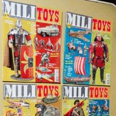 Militaria: LOTE DE 4 REVISTAS - MIILI-TOYS. Lote 182737968
